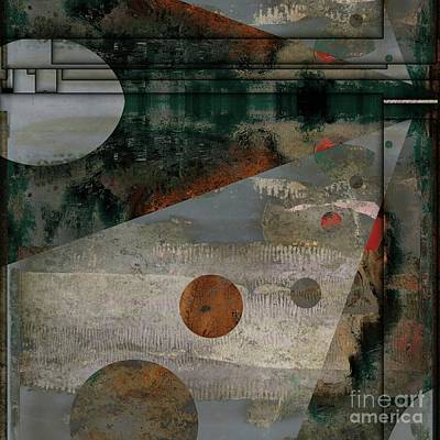 Digital Art - Staccato - As02-23v2 by Variance Collections