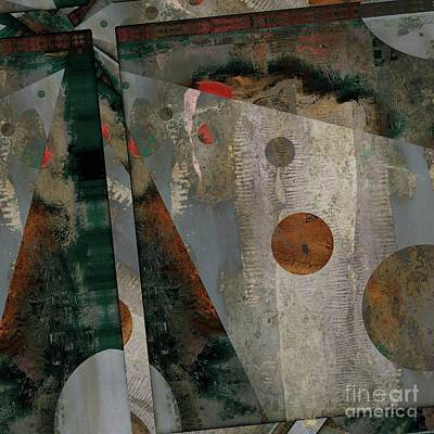 Digital Art - Staccato - As02-24 by Variance Collections