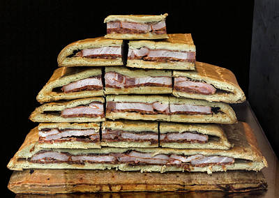 Photograph - Stack Of Sandwiches Valencia Spain by Phil Cardamone
