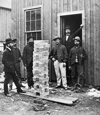 Leadville Photograph - Stack Of Silver Ingots by Granger