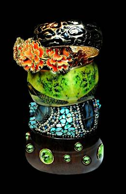 Photograph - Funky Bangles by Diana Angstadt