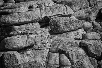 Photograph - Stacked Boulders by Sandra Selle Rodriguez