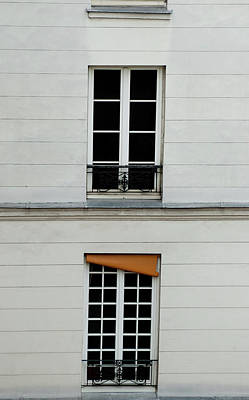 Photograph - Stacked French Windows by Jani Freimann
