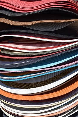 Photograph - Stacked Sombreros by Larry Johnston