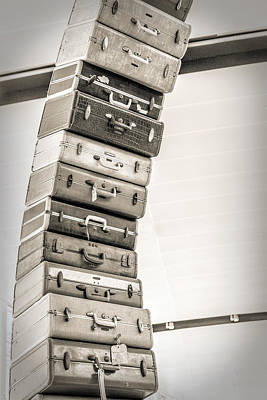Photograph - Stacked Vintage  by Sennie Pierson