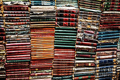 Stacks Of Books Art Print