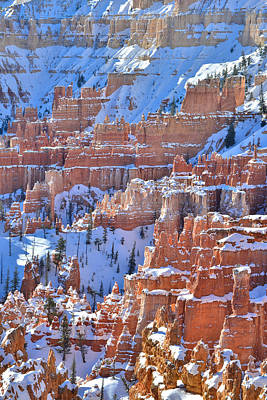 Photograph - Stacks Of Hoodoos by Ray Mathis