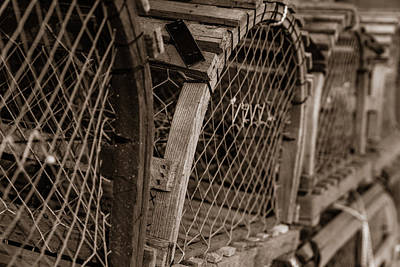Photograph - Stacks Of Pei Loberster Traps by Chris Bordeleau
