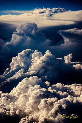 Photograph - Stacks Of Thunderheads by Rikk Flohr