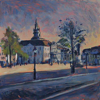 Painting - Stadhuis Maastricht by Nop Briex