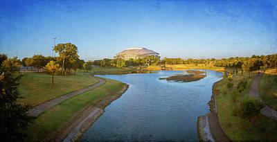 Photograph - Stadium And Park Panorama by Joan Carroll