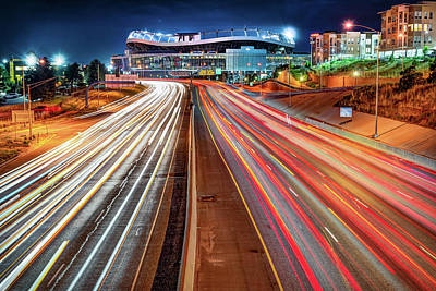 Photograph - Stadium At Mile High - Denver Colorado by Gregory Ballos