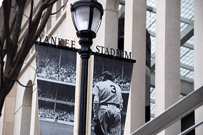 Photograph - Stadium Banner by John Schneider