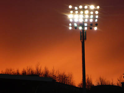 Photograph - Stadium Lights by RKAB Works