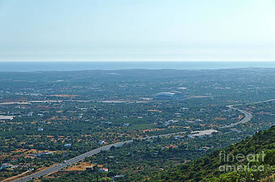 Photograph - Stadium Of Algarve From The Mountains by Angelo DeVal