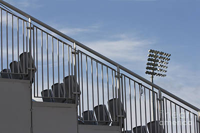 Photograph - Stadium Seating by Terri Waters