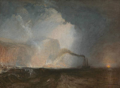 Painting - Staffa Fingal's Cave by Joseph Mallord William Turner