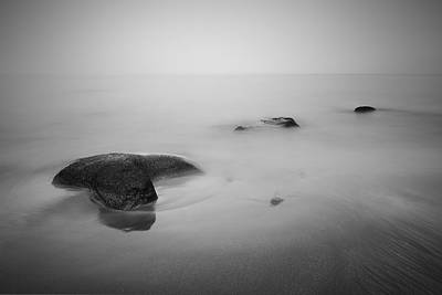 Photograph - Staffin Bay Mist by Grant Glendinning