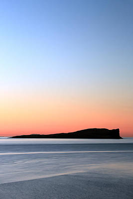 Photograph - Staffin Sunset by Grant Glendinning