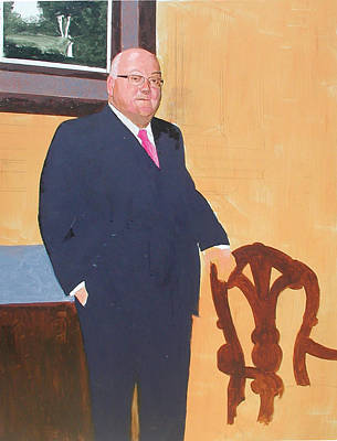 Portraits Painting - Stage 2 by Harold Shull