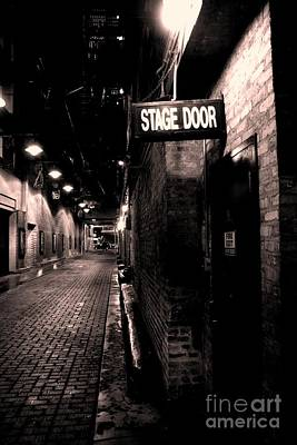 Mike Schmidt Photograph - Stage Door by Mike Schmidt