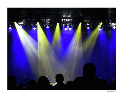 Photograph - Stage Lights by Joel Meyer