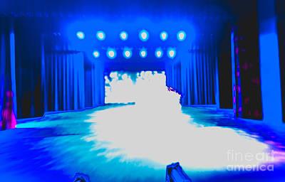 Photograph - Stage Lights by Scott Sawyer