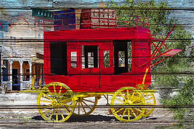 Photograph - Stagecoach Stop by Phyllis Denton