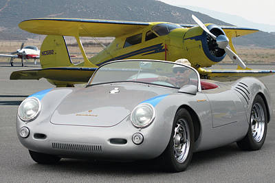 Photograph - Staggerwing Spyder by Bill Dutting