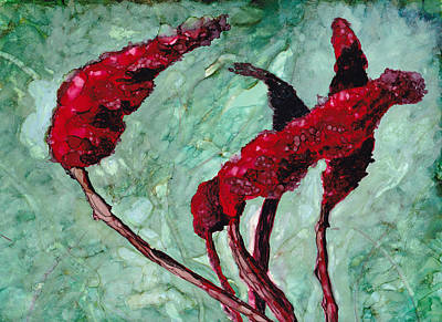 Painting - Staghorn Sumac After A Long Winter by Cynthia Matthews