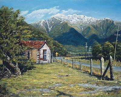 Painting - Staging Post At Aickens by Peter Jean Caley