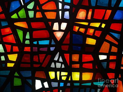Photograph - Stained Glass 1 by Michael Canning