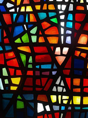 Photograph - Stained Glass 2 by Michael Canning