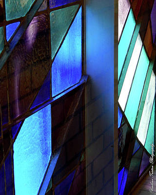 Photograph - Stained Glass #4713 by Barbara Tristan