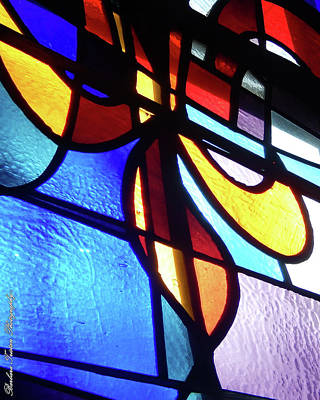 Photograph - Stained Glass #4716 by Barbara Tristan