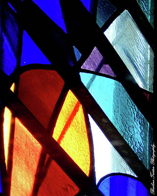 Photograph - Stained Glass #4717 by Barbara Tristan