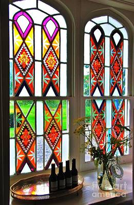 Stained Glass Ireland Photograph - Stained Glass At Killruddery # 2 by Poet's Eye