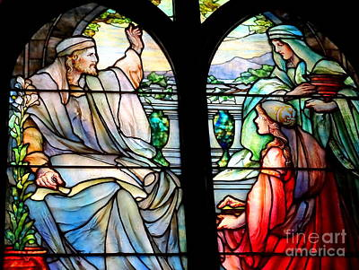 Photograph - Stained Glass Beauty #31 by Ed Weidman