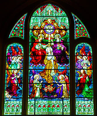 Jesus Photograph - Stained Glass by Bill Cannon