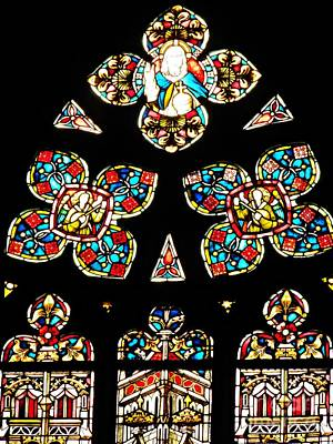 Stained Glass Glory Art Print by Sarah Loft