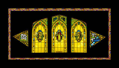 Digital Art - Stained Glass by Jeff Phillippi