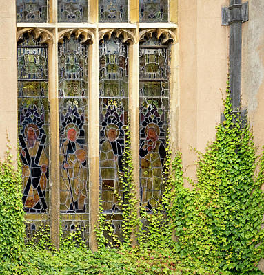 Photograph - Stained Glass Ladies by Jean Noren