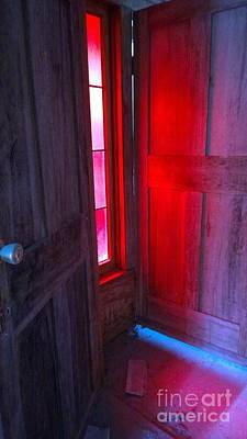 Photograph - Stained Glass Reflection  by Susan Carella