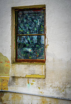 Photograph - Stained Glass by Samuel M Purvis III