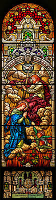 Photograph - Stained Glass Scene 8 by Adam Jewell