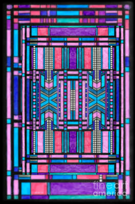 Mixed Media - Stained Glass Vi by Wbk