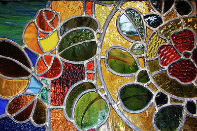 Photograph - Stained Glass Wall Decor by Tatiana Travelways