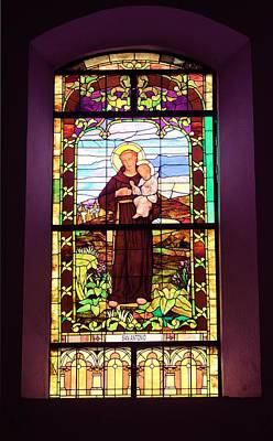 Photograph - Stained Glass Window 1 by Douglas Pike