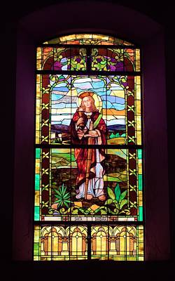 Photograph - Stained Glass Window  2 by Douglas Pike