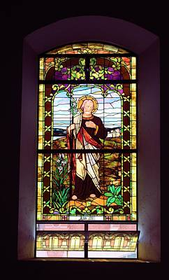 Photograph - Stained Glass Window 3 by Douglas Pike
